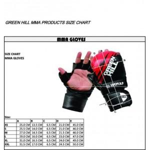 Перчатки для ММА IMMAF Р.L