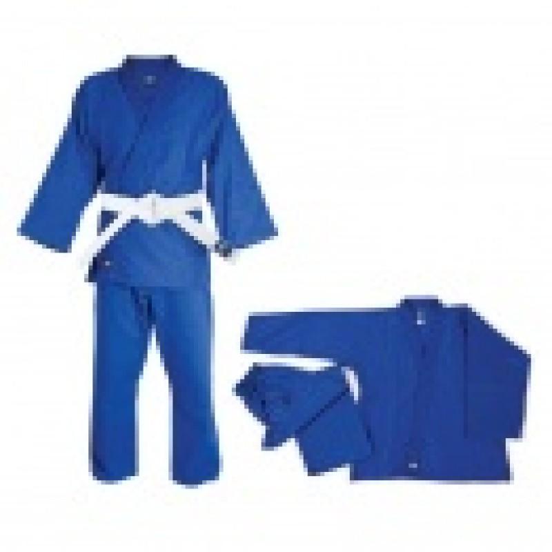 Кимоно для дзюдо Club (белое/синее)