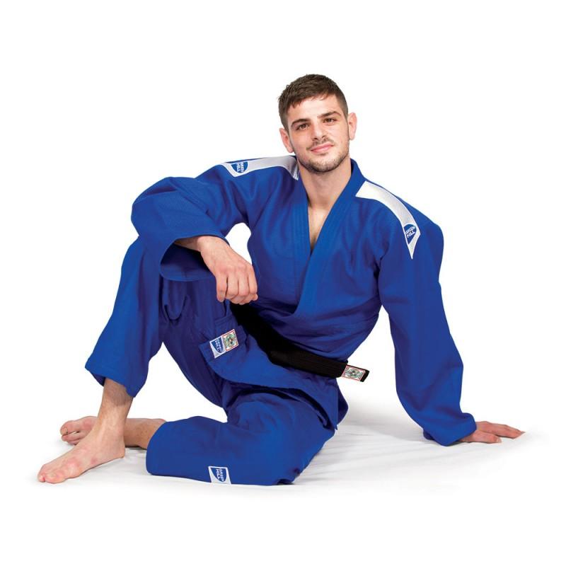 Кимоно для дзюдо PROFESSIONAL (синее), одобрено IJF