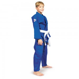 Кимоно для дзюдо Traning (белое/синее)